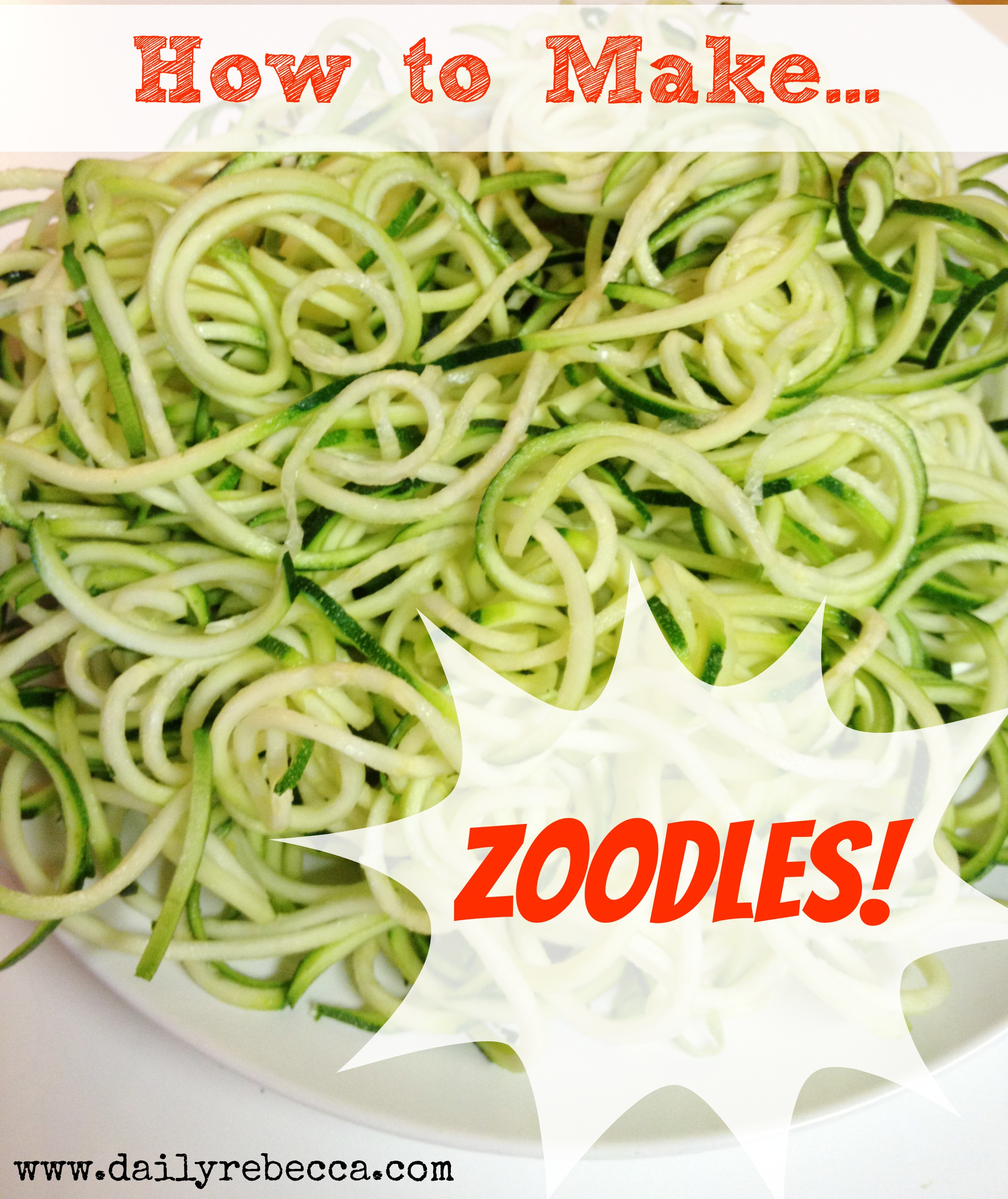 Zoodles Food Network