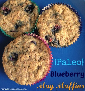Super easy paleo muffins