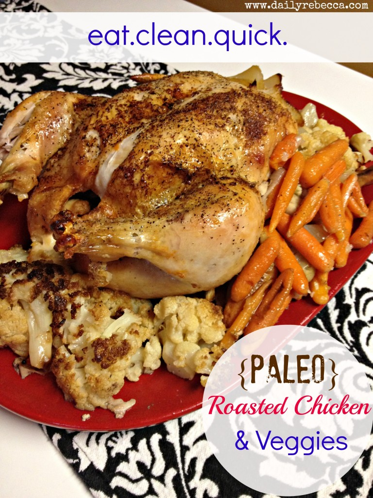Paleo Roasted Chicken