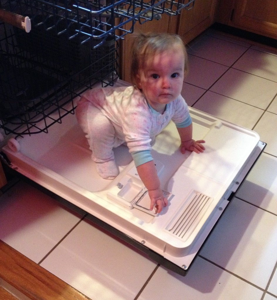 Dishwasher love :)