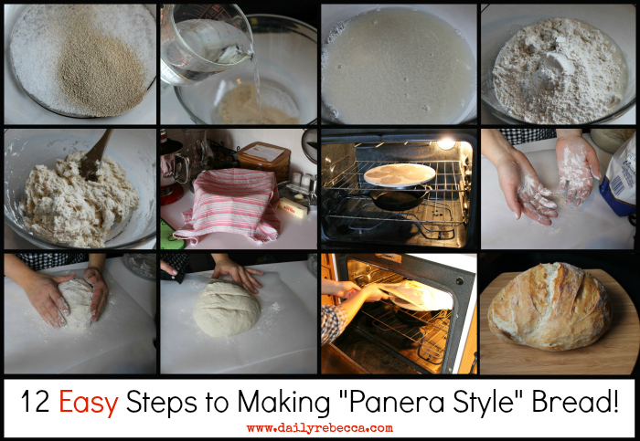 12 steps to ridiculously easy panera style bread