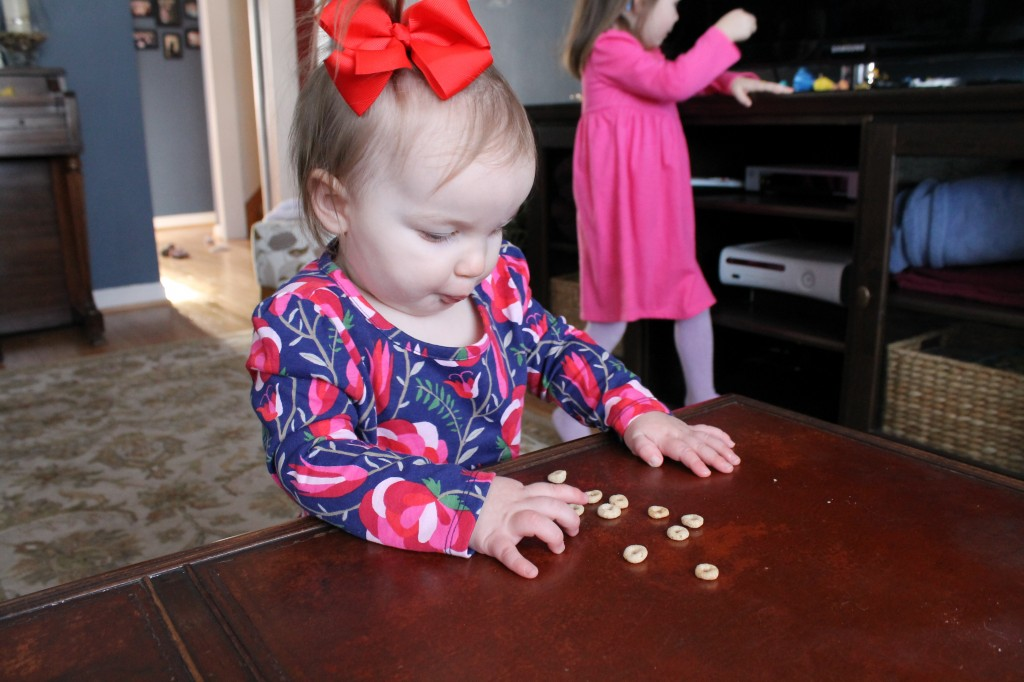 avery touching cheerios