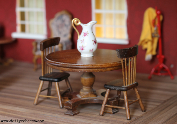 dollhouse dining room table
