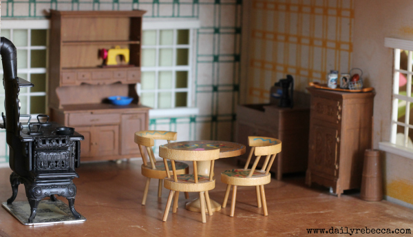 dollhouse kitchen full view