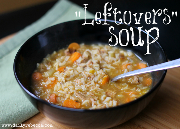 leftovers soup