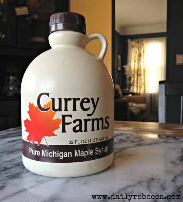 currey farms maple syrup
