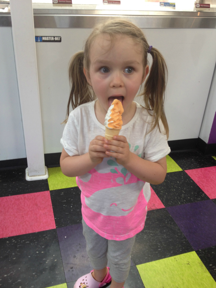 grace with cone