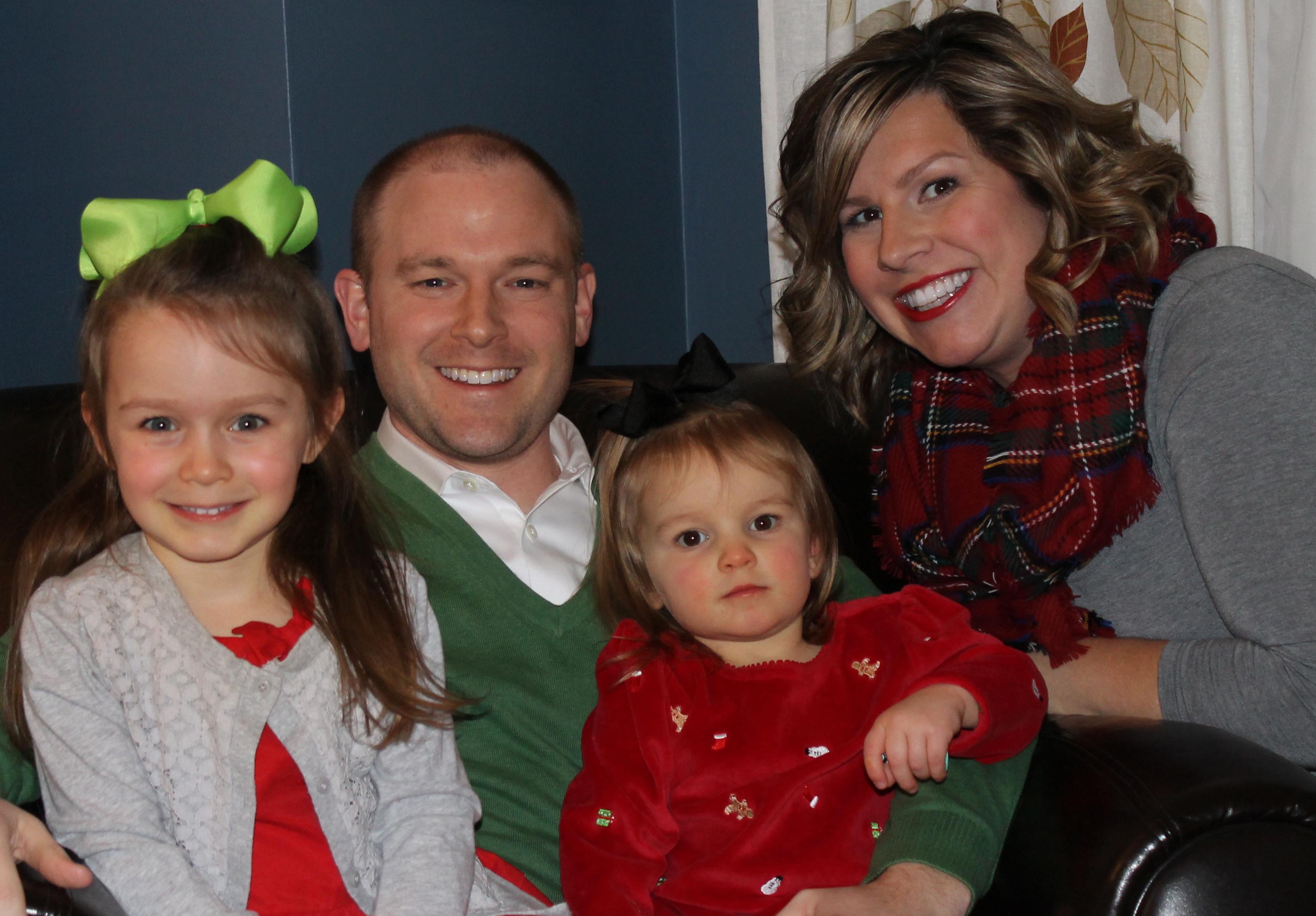 family christmas photo 2014