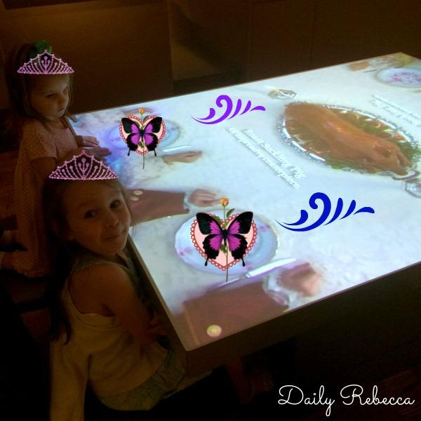 princesses at table