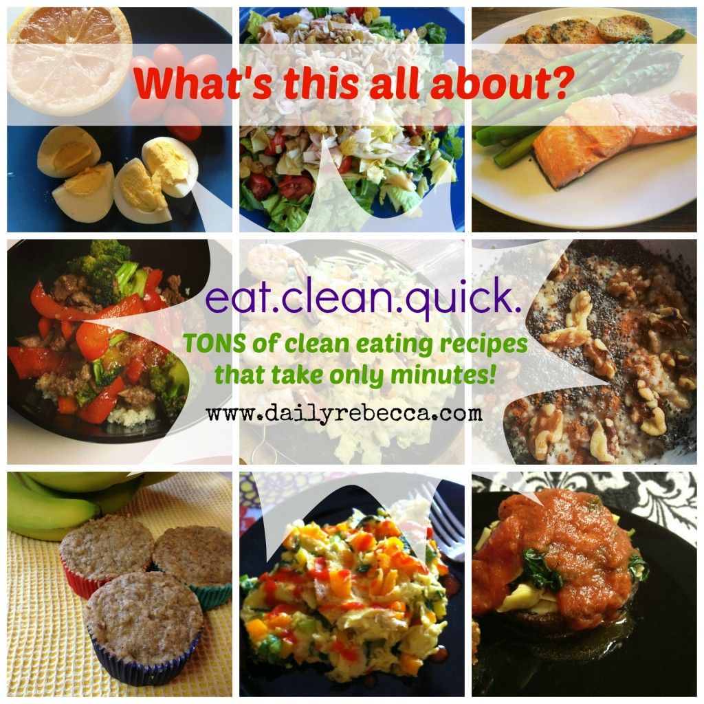 About Eat Clean Quick