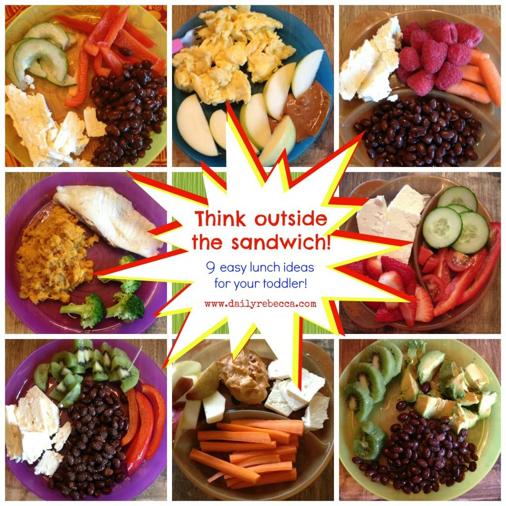 9 easy lunch ideas